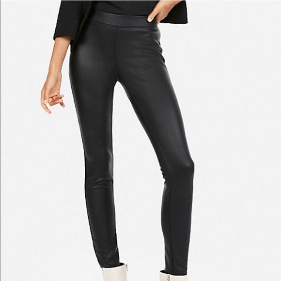 14ab3417a918de Express Pants   Nwot Faux Leather Leggings   Poshmark